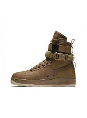 Nike Special Field Air Force 1 Faded Olive-Gum Light Brown men & women shoes
