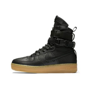 Nike Special Field Air Force 1 Black/Gum Light Brown men & women sports shoes