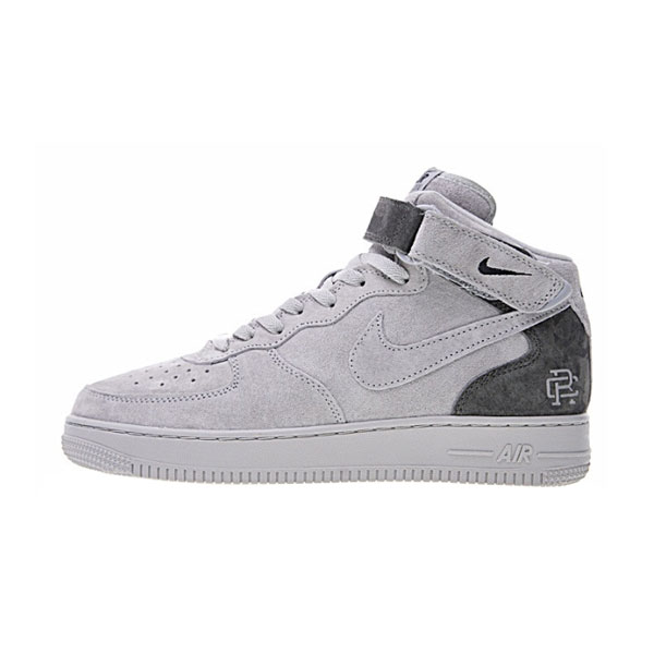 Reigning Champ x Nike Air Force 1 Mid '07 sneakers men's sports shoes ntrl grey