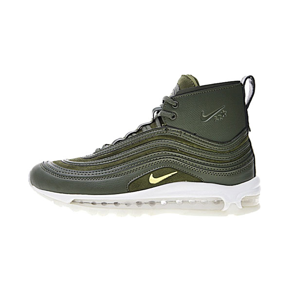 Riccardo Tisci X NikeLab Air Max 97 Mid sneakers men's running shoes green white