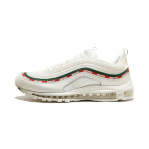 Undefeated x Nike Air Max 97 OG 20 men's and women's running shoes triple white