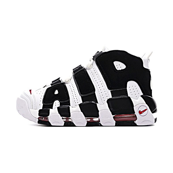 Nike air more uptempo scottie pippen sneakers men's basketball shoes white black