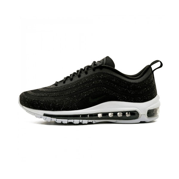 Limited Nike Wmns Air Max 97 LX Swarovski men and women sneakers black bullet