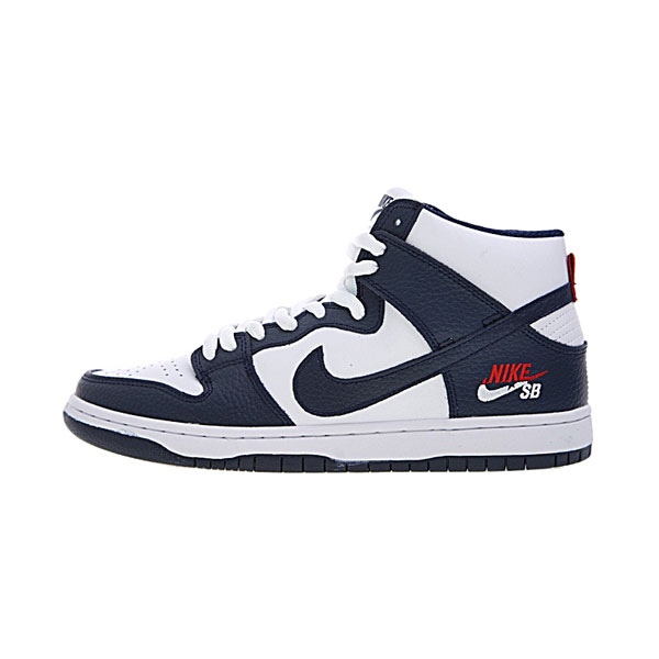 Nike SB Dunk High ProDream Team Navy Blue men and women skateboarding shoes