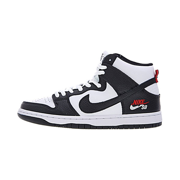 Nike SB Dunk High ProDream Team White Black men's and women's skate shoes