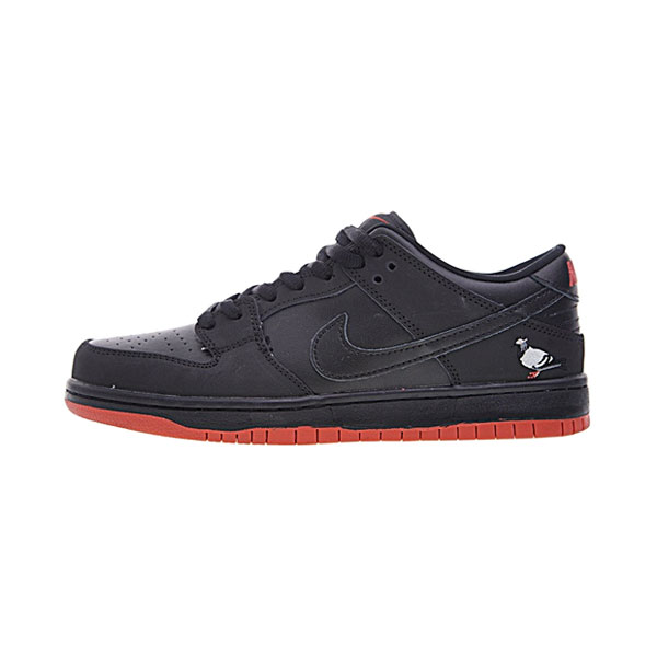 Jeff Staple x Nike SB Dunk Low Black Pigeon men and women skateboarding shoes