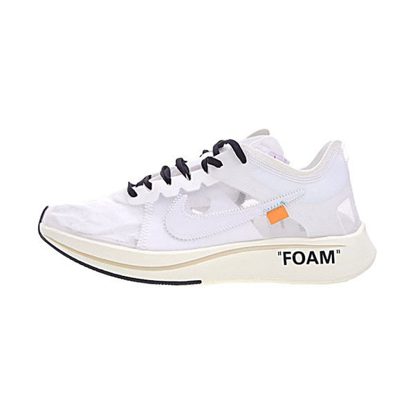 Off White x Nike Zoom Fly SP sneakers men and women running shoes white