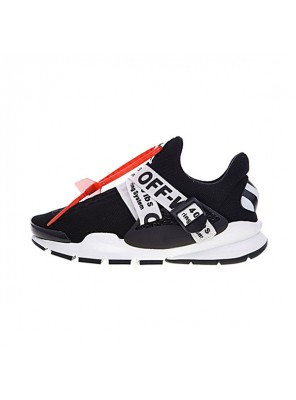 Off White x Nike Sock Dart sneakers men and women casual shoes black white
