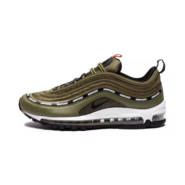 Undefeated x Nike Air Max 97 Olive sneaker men and women running shoes