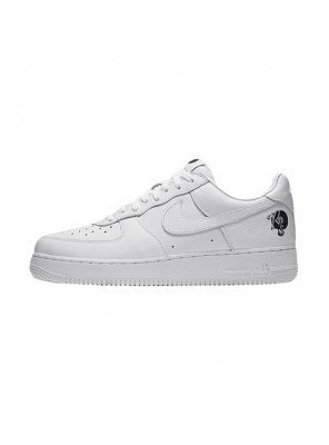 Limited Roc-A-Fella x Nike Air Force 1 Low '07 men and women sports shoes white