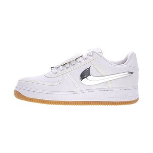 Travis Scott x Nike Air Force 1 AF100 sneaker men and women sports shoes white