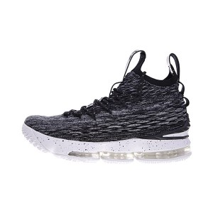Nike Air Zoom Lebron 15 Oreo Flyknit sneaker men's basketball shoes black white