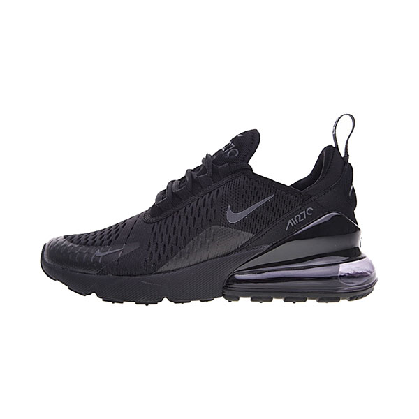2018 Nike Air Max 270 sneakers men's and women's running shoes triple black
