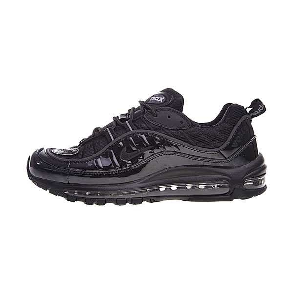 Limited Supreme x NikeLab Air Max 98 sneakers men's running shoes triple black