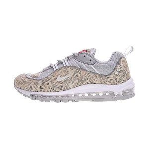 Limited Supreme x NikeLab Air Max 98 sneakers men's running shoes snakeskin