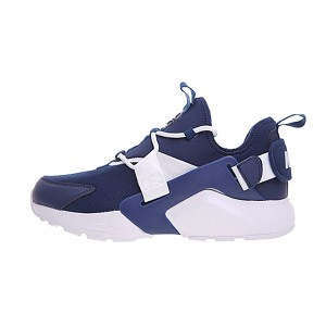 Nike Air Huarache City Low 2018 sneakers men's sports shoes navy blue white