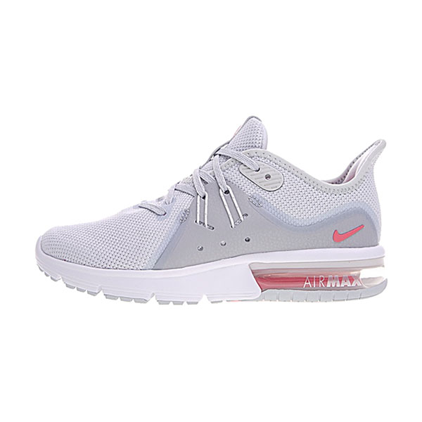 Nike Air Max Sequent 3 sneakers women's running shoes grey white pink