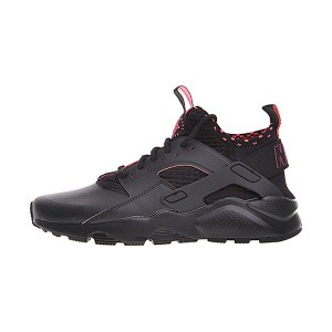 Nike Air Huarache Ultra Black Solar Red Shine men and women running shoes