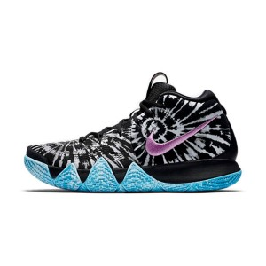 Nike Kyrie 4 All-Star Tie Dye sneaker men's basketball shoes black and white