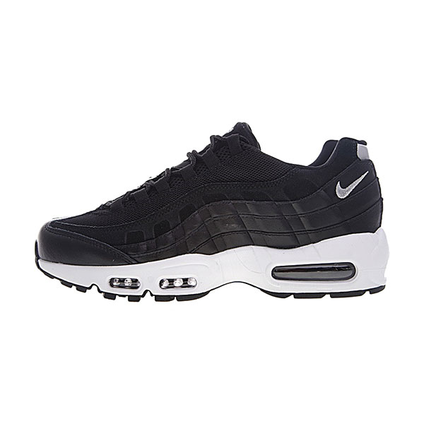 Nike Air Max 95 Rebel Skulls sneaker men's running shoes black chrome