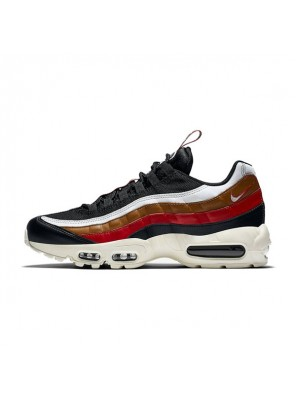 Nike Air Max 95 TT Pull Tab Pack men and women running shoes black red