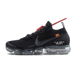 Off White x Nike Air VaporMax 2.0 sneaker men and women running shoes black