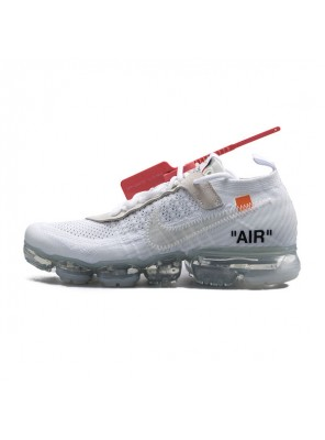 Off White x Nike Air VaporMax 2.0 sneaker men and women running shoes white