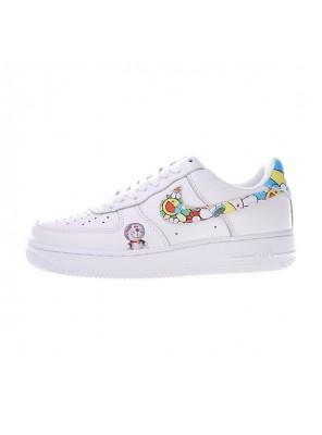 Takashi Murakami x Doraemon x Nike air force 1 low sunflower men's sports shoes