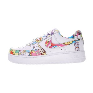 Takashi Murakami x Doraemon x Nike air force 1 Low sneaker women sports shoes
