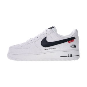 Supreme x The North Face x Nike Air Force 1 sneaker men and women shoe