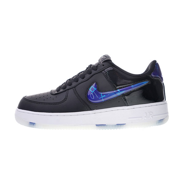 Playstation x Nike Air Force 1 18QS sneaker men's skateboarding shoes Black Blue