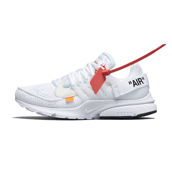 Off White x Nike Air Presto White THE TEN Sneaker Men And Women Running Shoe