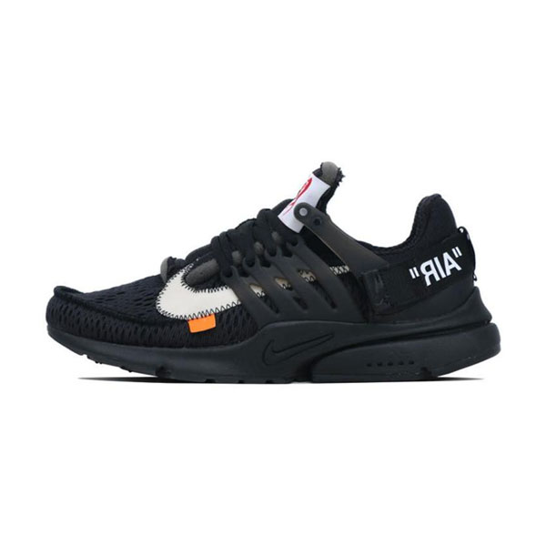 06e2bc5f10ea Off White x Nike Air Presto Black THE TEN Sneaker Men And Women Running Shoe
