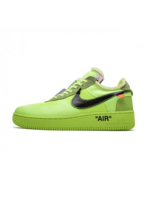 Off White x Nike Air Force 1 Low Volt Sneaker Men And Women Sports Shoe