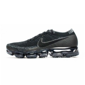 OFF WHITE x Nike air vapormax flyknit Be True men running shoes pure black