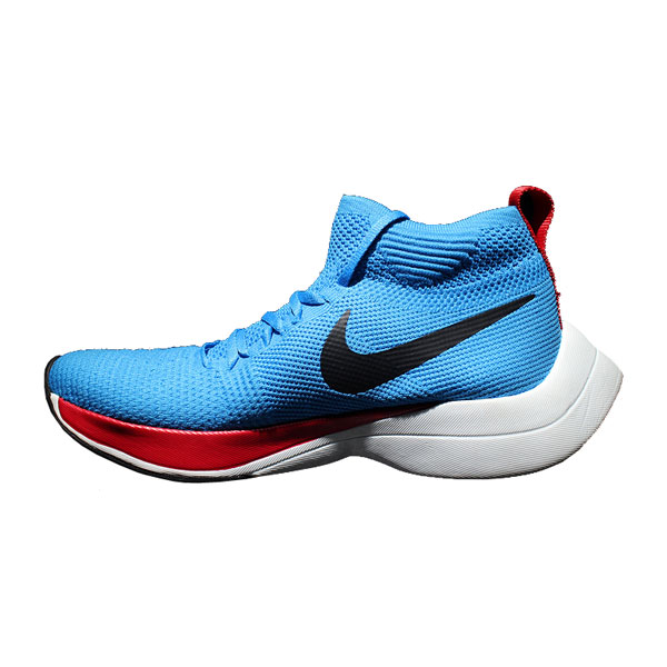 Nike zoom vaporfly elite flyknit women and men high stat sneakers blue red