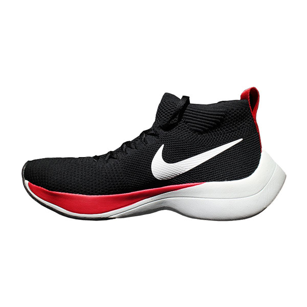 Nike zoom vaporfly elite flyknit shoes cheap high stat sneakers black red