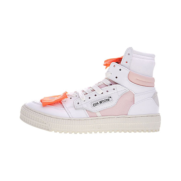 Off White c/o Virgil Abloh Low 3.0 Off-Court 1 sneakers for women white and pink