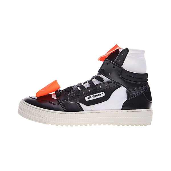 Off White c/o Virgil Abloh Low 3.0 Off-Court 1 men and women sneaker black white