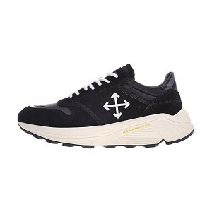 Off White C/O Virgil Obloh Arrow Detail Low men and women sneakers black