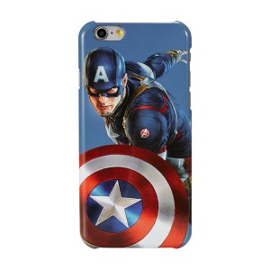 Creative Marvel Captain America pattern iphone6 / 6s / 6plus mobile phone cases