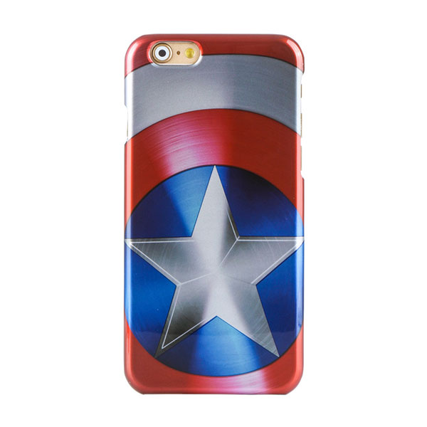 Creative Marvel shield pattern apple iphone6 / 6s / 6plus mobile phone cases