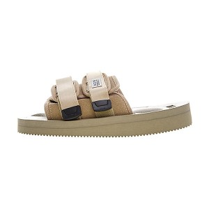 CLOT x Suicoke MOTO-VS sandals men and women slippers beach shoes beige