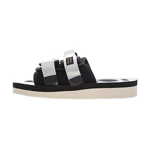 CLOT x Suicoke MOTO-VS sandals men and women trend slippers black sliver