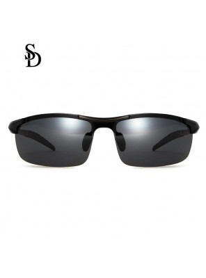 Sodear luxury sunglasses classic men's torism sunglasses black frame black lens