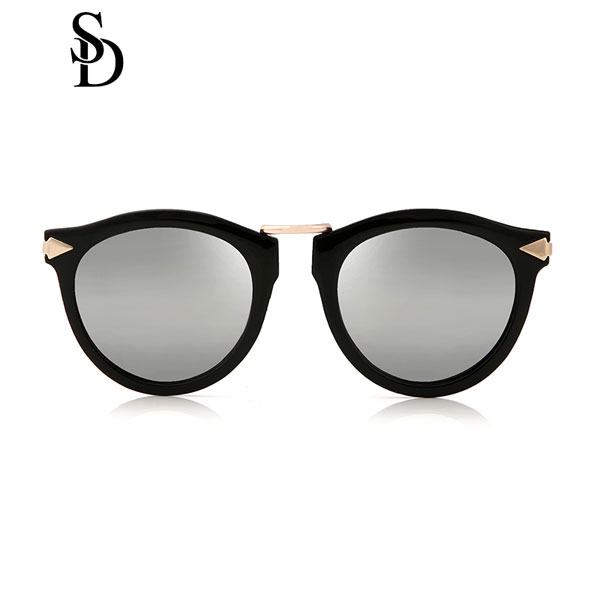 Sodear enchanted goddess sunglasses fashion round sunglasses black mercury
