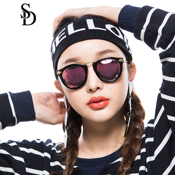 Sodear enchanted goddess sunglasses fashion polarized sunglasses black pink