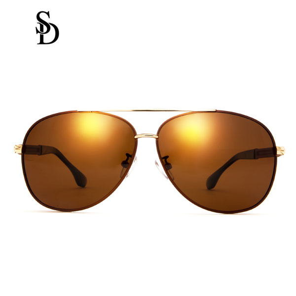 Sodear fashion polarized glasses for womens and mens sunglasses coffee color