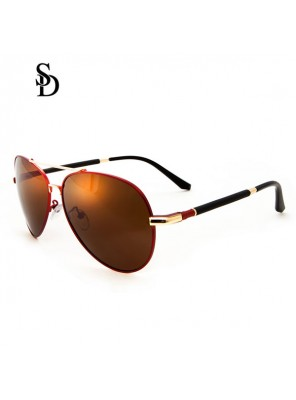 Sodear polarized travel sunglasses womens and mens sunglasses gold coffee