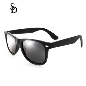 Sodear retro sunglasses 2017 fashion polarized couple sunglasses black black